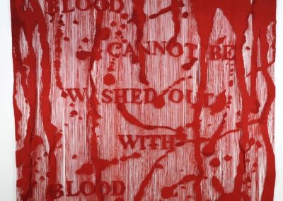 Blood Cannot Be Washed Out With Blood