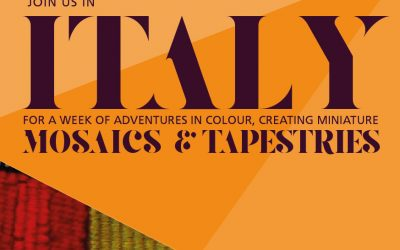 Mosaic and Tapestry Workshops in Italy